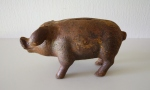 antique cast iron small pig 3