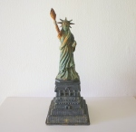 Large cast iron Statue of Liberty - $155