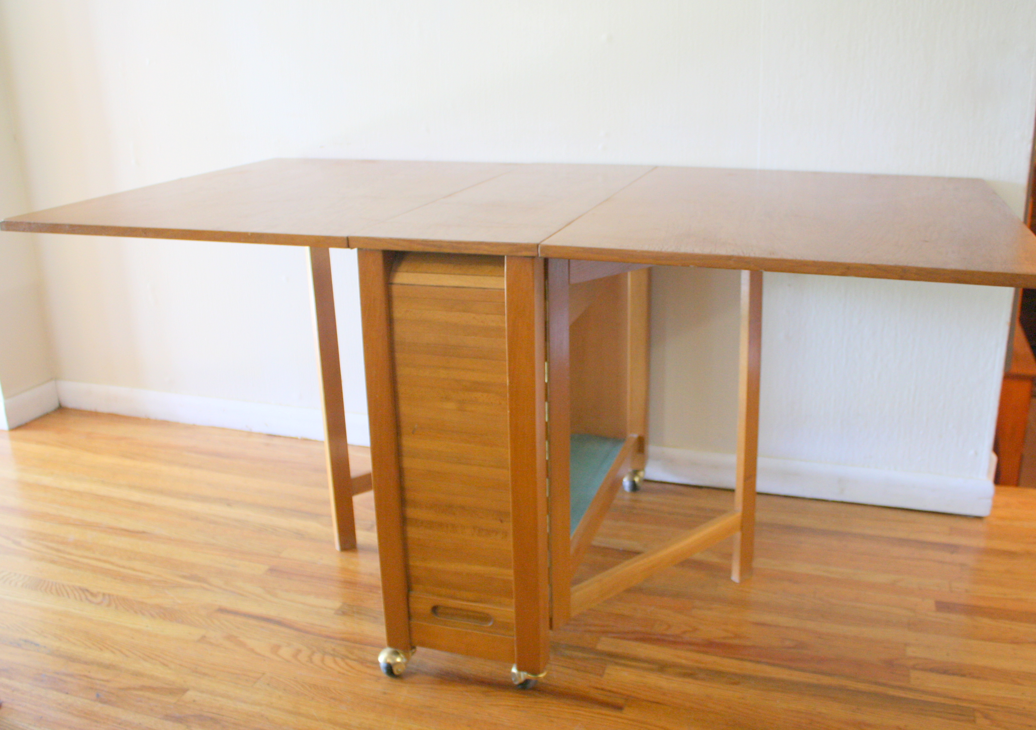 Mid Century Modern Gateleg Table With Chairs Picked Vintage