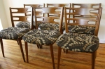 mcm dining chairs set of 6 2
