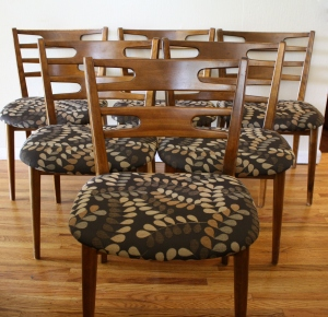 mcm dining chairs set of 6
