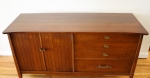 mcm mini credenza with sliding tray 2