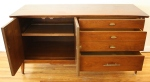 mcm mini credenza with sliding tray 3