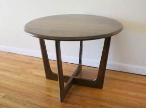 mcm round cross base side table 1