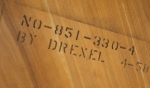 Kipp Stewart for Drexel surfboard dining table 5