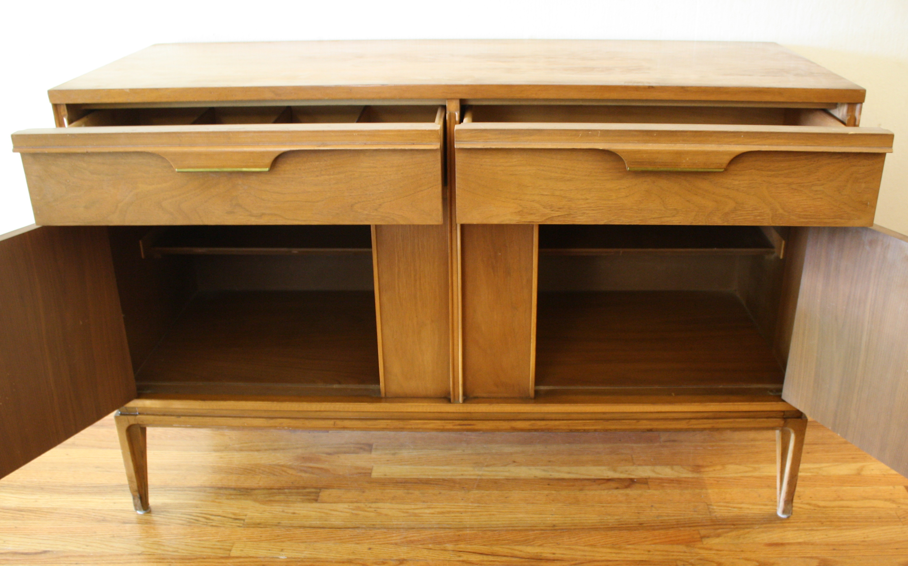 Mid Century Modern Credenzas By Basic Witz And Drexel
