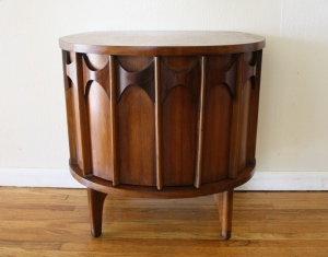 Kent Coffey Perspecta demilune table 1