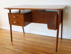 mcm desk with front bookshelf 2