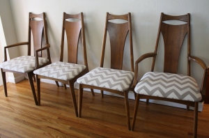 mcm dining chairs zig zag 2