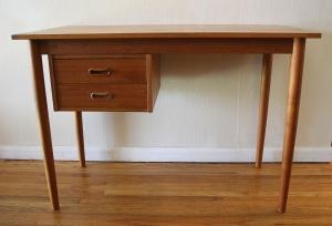 mcm teak desk 1
