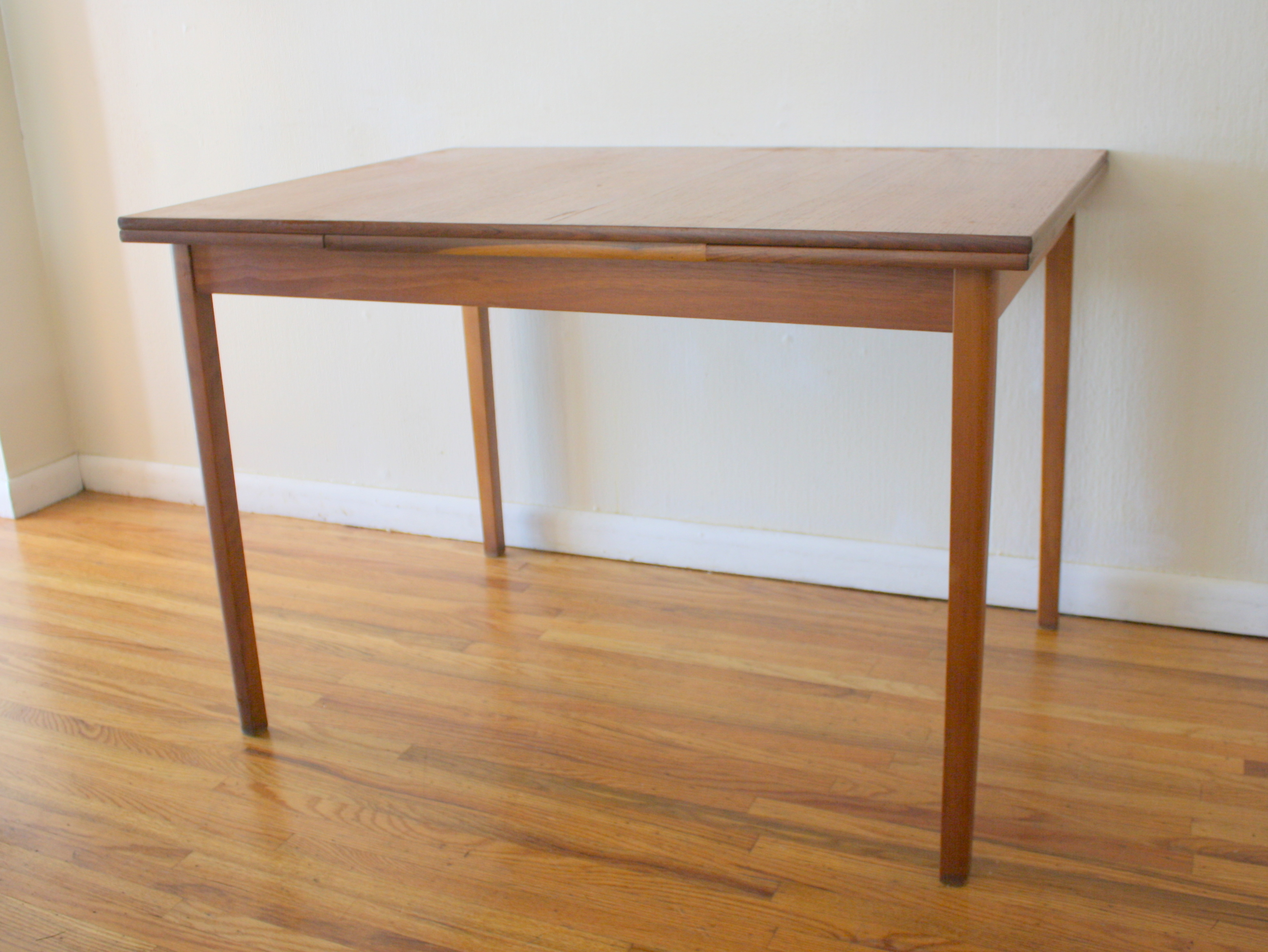 Dining table picked vintage - Table extensible console ...