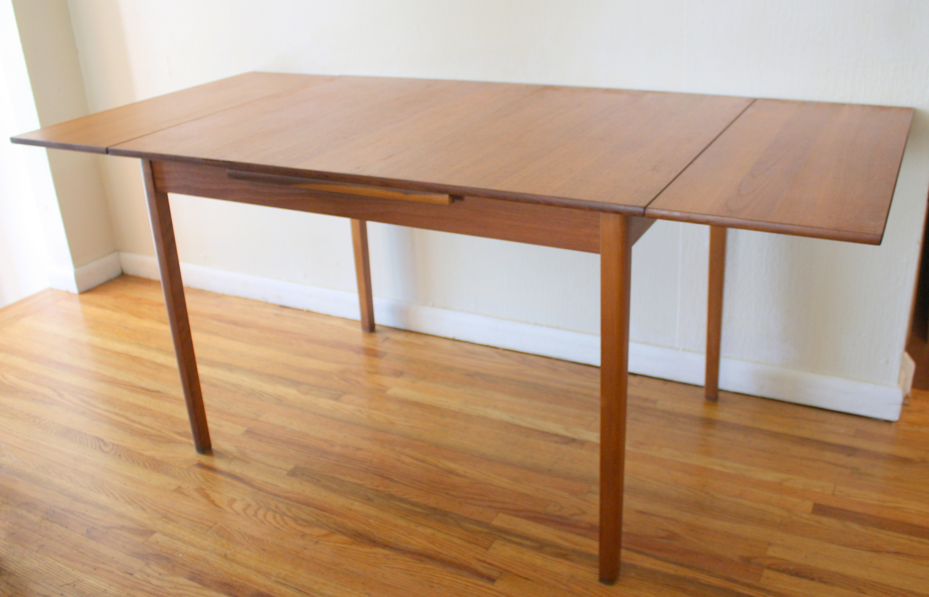 Mid Century Modern Teak Refractory Dining Table Picked