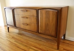 mcm United credenza arched side cabinets 1