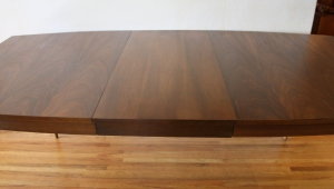 surfboard dining table tapered legs 2