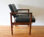 mcm arm chair black 2