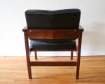 mcm arm chair black 3