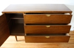 mcm bassett credenza with side cabinet 2