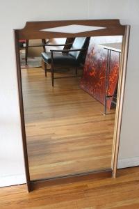 mcm bassett diamond mirror
