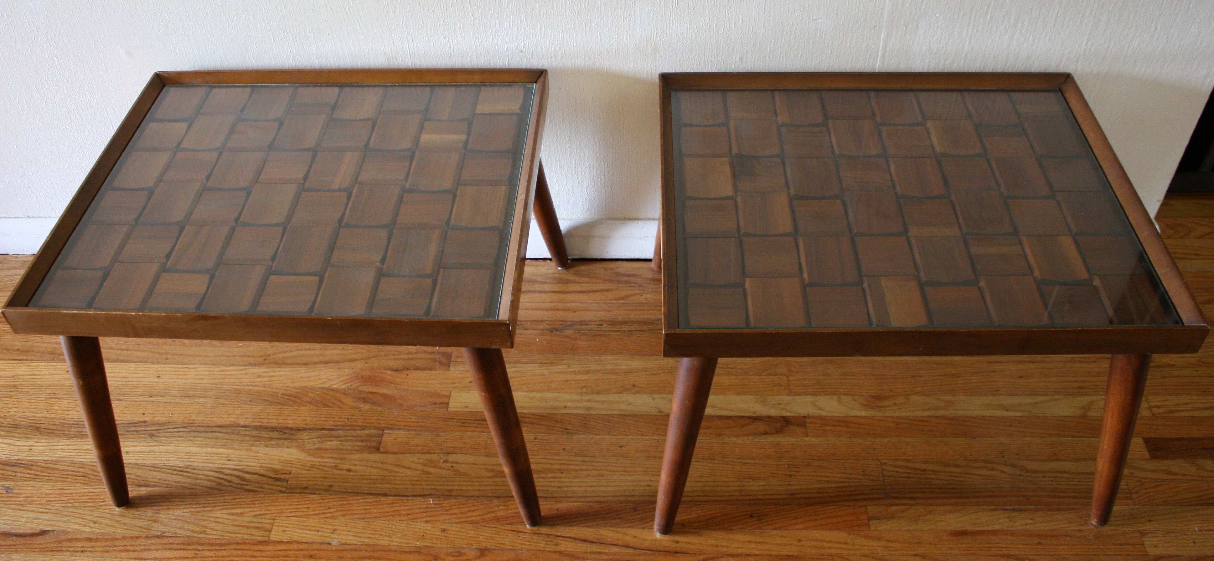 Mcm Side End Table Brutalist 2