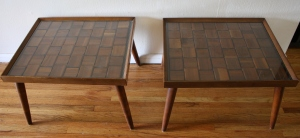 mcm side end table brutalist 2