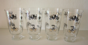 mcm stagecoach tall glasses 1