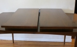 mcm surfboard dining table 2 ext leaves 2
