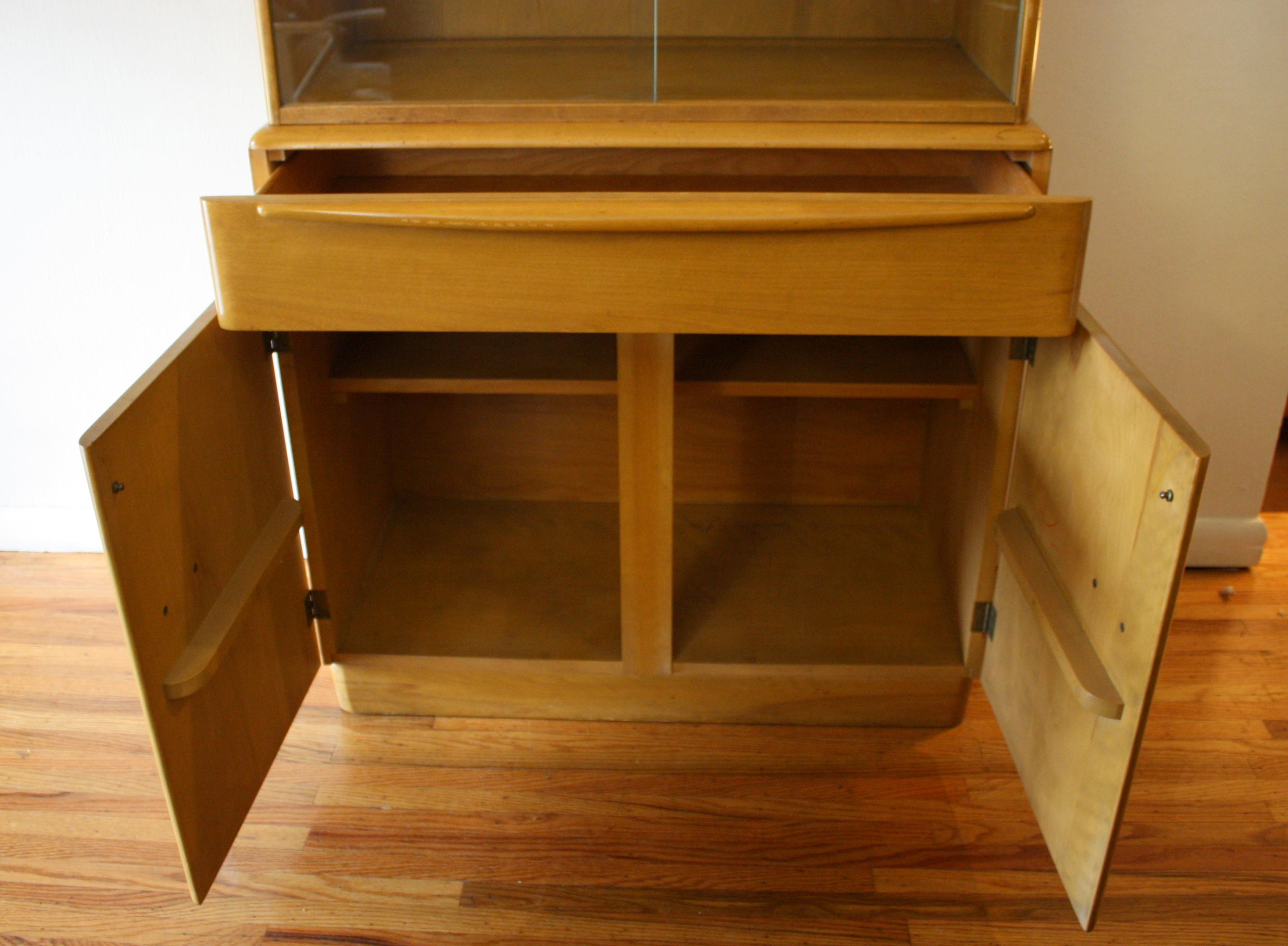 Vintage Herman Miller Chairs >> Heywood Wakefield Hutch Bar Cabinet | Picked Vintage