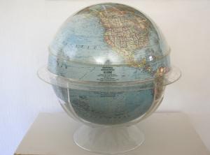 lucite globe 1
