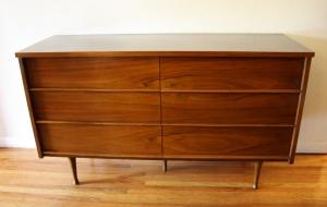 mcm 6 drawer streamlined dresser 1
