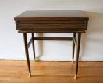 mcm louvered console vanity table 2