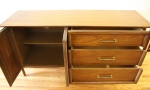 mcm rattan credenza sculpted sides 2