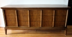mcm Dixie low dresser with streamlined drawers handles 1