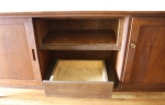Middle of credenza