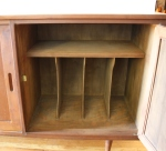 Right side of credenza