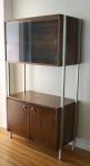 mcm bar cabinet hutch 1