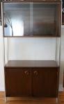 mcm bar cabinet hutch 2