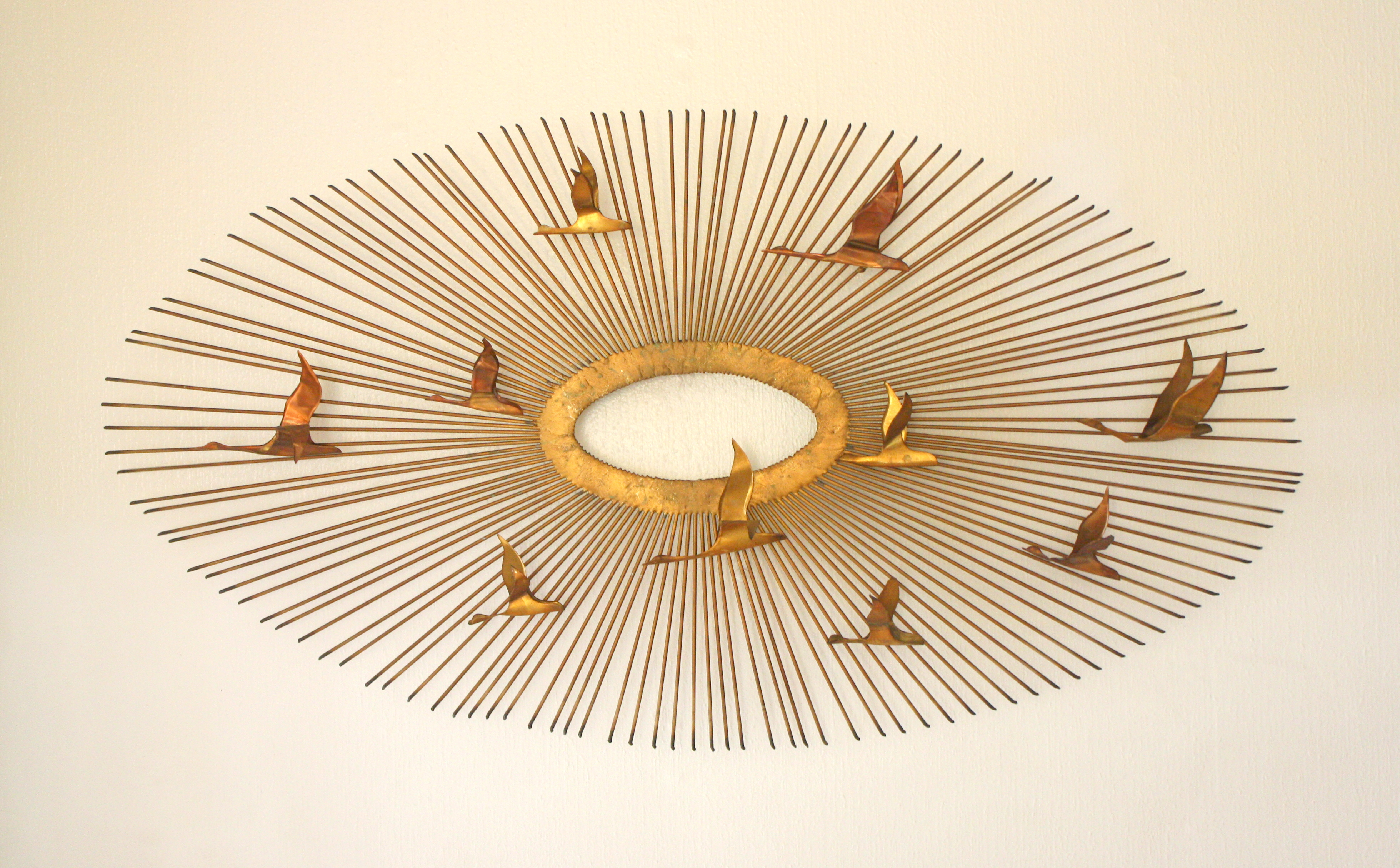 mcm brutalist sunburst birds 1 : brutalist lighting - azcodes.com