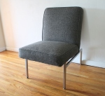 mcm charcoal lounge chair 2