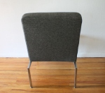 mcm charcoal lounge chair 3