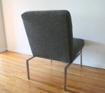 mcm charcoal lounge chair 4