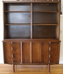 mcm china cabinet sculpted doors 1