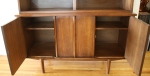 mcm china cabinet sculpted doors 3