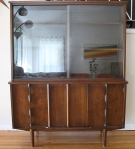 mcm china cabinet sculpted doors 5