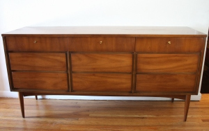Dixie 9 drawer low dresser 1