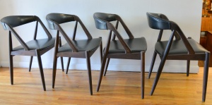 Kai Kristiansen chairs set of 4 - 2