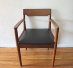 mcm arm chair wood back 2