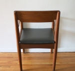 mcm arm chair wood back 3