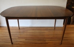 mcm oval surfboard dining table 1