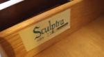 Broyhill Sculptra room divider credenza 4