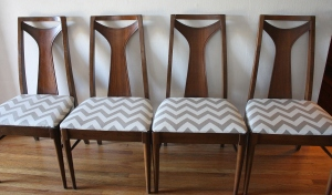mcm brasilia style dining chairs 1